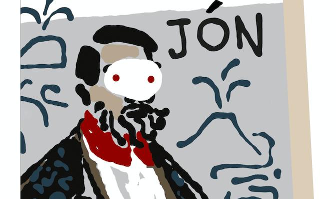 Jón e le missive che scrisse alla moglie incinta mentre svernava in una grotta e preparava il di lei avvento e dei nuovi tempi